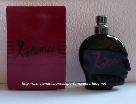 Hombre Paul Miniatura Perfume Jean Kokorico Gaultier Para OkiuXZPTw