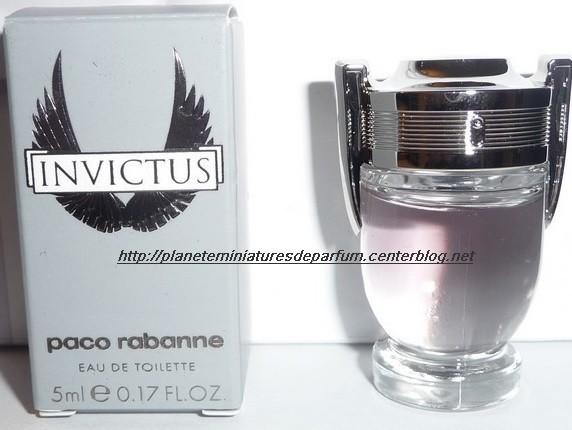 Paco Homme Miniature Rabanne Parfum Invictus zpMUSV
