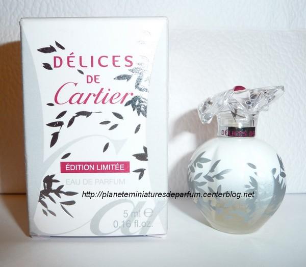 Edition Miniature Cartier Limitée Délices Blanche PZuikXOT