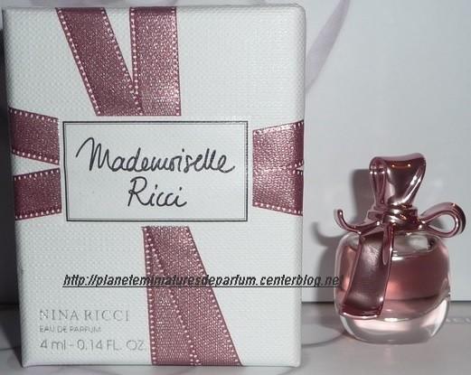 Nouveauté Mademoiselle 2012 Ricci Miniature Nina Edp JclFK13T