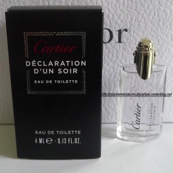 Miniature Déclaration Dun Soir Cartier Parfum Homme