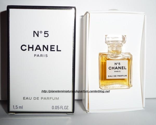 Miniature Chanel N5 Eau De Parfum Date De Sortie 2012